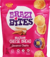 Brazi Bites Cinnamon Churro Brazilian Cheese Bread