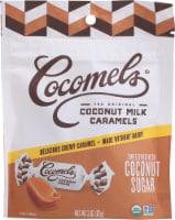 Cocomels Organic Coconut Sugar Coconut Milk Caramels