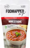 Fodmapped for You Soup Gluten Free Minestrone Soup