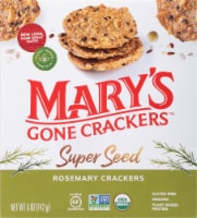 Mary's Gone Crackers Rosemary Super Seed Crackers - 5 oz