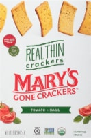 Mary's Gone Crackers Tomato + Basil Real Thin Crackers