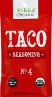 Riega Foods Organic Gluten Free #4 Taco Seasoning
