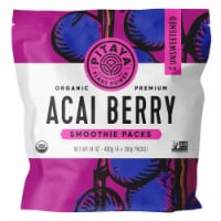PitayaPlus Organic Acai Berry Smoothie Packs