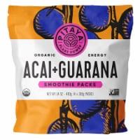 PitayaPlus Organic Acai + Guarana Smoothie Packs