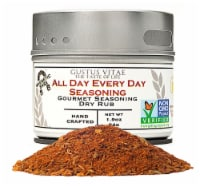 Gustus Vitae All Day Every Day Gourmet Dry Rub Seasoning