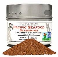 Gustus Vitae Pacific Seafood Gourmet Dry Rub Seasoning