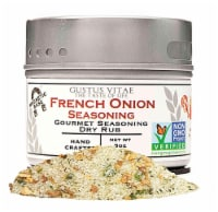 Gustus Vitae French Onion Gourmet Dry Rub Seasoning