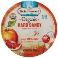 Torie & Howard Organic Blood Orange & Honey Hard Candy
