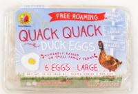 Dutch Farms Quack Quack Grade A Large Duck Eggs - 6 ct