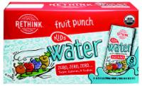 Rethink Kids Organic Fruit Punch Water Drink Boxes