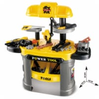 Tool Play Set for kids Yellow, Workbench for Kids, tool bench, Pretend Play