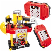 Tool Set for kids, Workbench for Kids, tool bench, with Tools and Drill - 85 pieces.