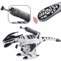 Dinosaur Intelligent Interactive Smart Toy Electronic RC Robot Walking Dancing Fight Mode.