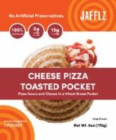 Jafflz Cheese Pizza Toasted Pocket