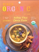 Curry Love Organic Mildly Spicy Yellow Thai Curry Paste