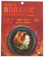 Curry Love Organic Spicy Hot Red Thai Curry Paste