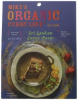 Mike's Organic Foods Sri Lankan Curry Paste