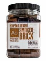 SmokerBricx American White Oak Wood Smoking Chunks 32 oz. - Case Of: 1;