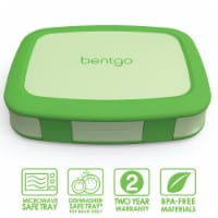 Bentgo Kids Chidrens Leak Proof Lunch Box - Green