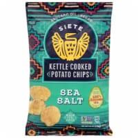 Siete Sea Salt Kettle Cooked Potato Chips - 5.5 oz