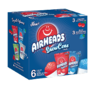 Airheads SnowCone Pouches 6 Count