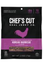 Chef's Cut Real Korean Barbecue Smoked Chicken Jerky