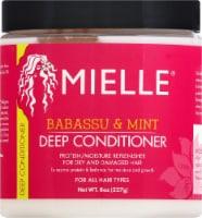 Mielle Organics Babassu Oil & Mint Deep Conditioner - 8 fl oz