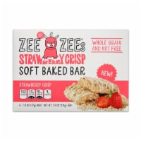 Zee Zee's Strawberry Crisp Soft Baked Cereal Bar