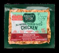 Mighty Spark Bruschetta Ground Chicken - 16 oz