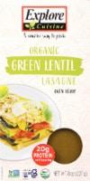 Explore Cuisine Organic Green Lentil Lasagne
