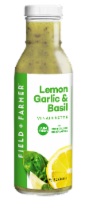 Field & Farmer™ Lemon Garlic & Basil Vinaigrette - 12 oz