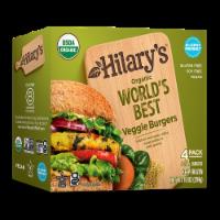 Hilary's Organic World's Best Veggie Burger - 4 ct / 10 oz