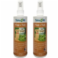 All Natural Flea & Tick 4 Dogs 8oz (2 pack)