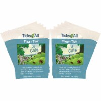 All Natural Flea and Tick Wipes 4 Cats (10 cnt.)