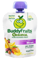Buddy Fruits Original Banana Passion & Mango Pure Blended Fruit