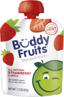 Buddy Fruits All Natural Strawberry & Apple Blended Fruits