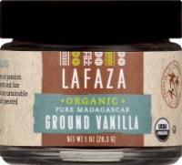 LAFAZA Organic Pure Madagascar Ground Vanilla