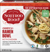 Saffron Road Shoyu Ramen Bowl With Chicken