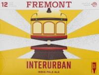 Fremont Interurban IPA Beer - 12 cans / 12 fl oz