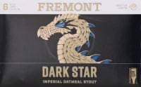 Fremont Dark Star Imperial Oatmeal Stout - 6 cans / 12 fl oz