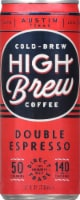 High Brew Double Espresso Coffee