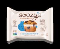 Soozy's Grain & Gluten Free Wild Blueberry Muffin