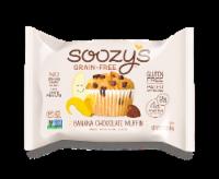 Soozy's Grain & Gluten Free Banana Chocolate Chip Muffin