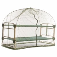 Disc-O-Bed Mosquito Net and Frame for Cam-o-Bunk Camping Cots, Green - 1 Piece