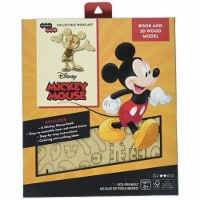 IncrediBuilds Walt Disney: Mickey Mouse 3D Wood Model and Book - 1