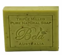Bela Pure Natural Lemon Myrtle with Lemongrass Bar Soap