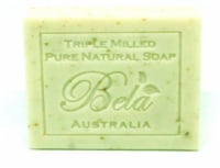 Bela Pure Natural Spearmint & Bran Soap Bar