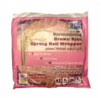 Star Anise Foods Gluten Free Brown Rice Spring Roll Wrappers
