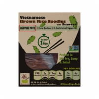 Star Anise Foods Gluten Free Brown Rice Noodles with Seaweed - 8.6 oz