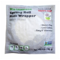 Star Anise Foods Spring Roll White Rice Paper - 8 oz